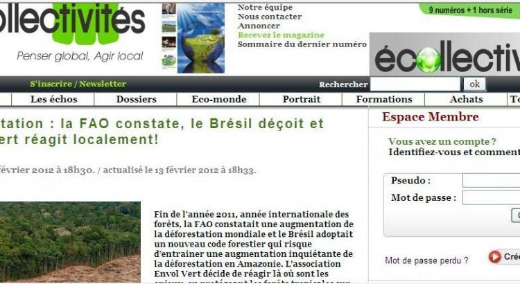 Ecollectivités 13 février 2012