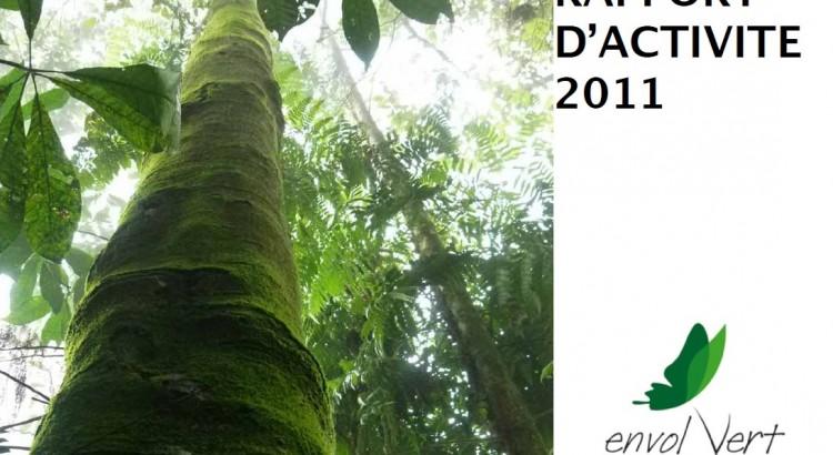 Couverture pour l'article du rapport d'activité 2011