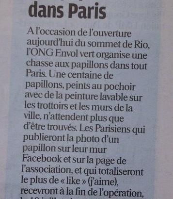 le parisien 20 juin 2012
