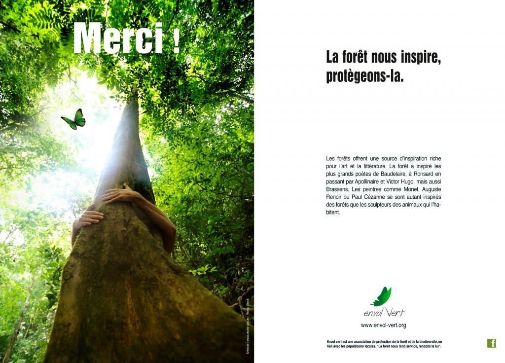 La forêt, un lieu de loisirs et d'inspiration...