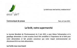 forêt supermarché