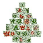 Calendrier arbre de Noël