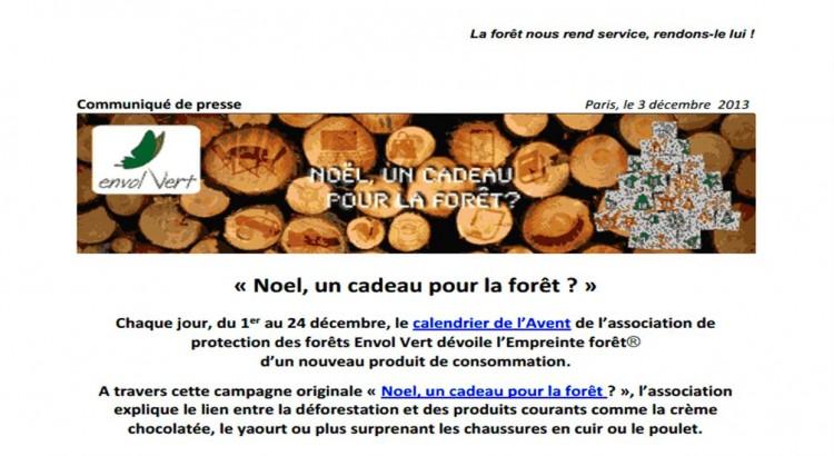 un cadeau pour la forêt