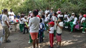 projet Noyer Maya avec école