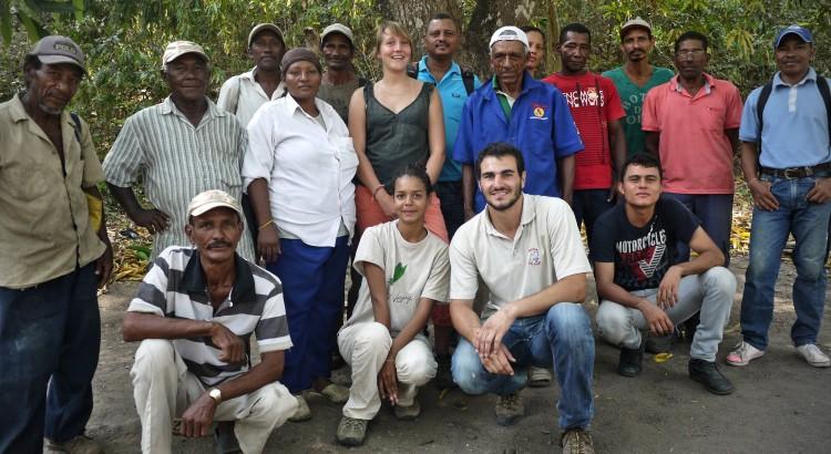 equipe noyer Maya élevage