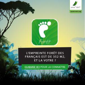 Cliquez ici pour utiliser l'outil Empreinte Forêt