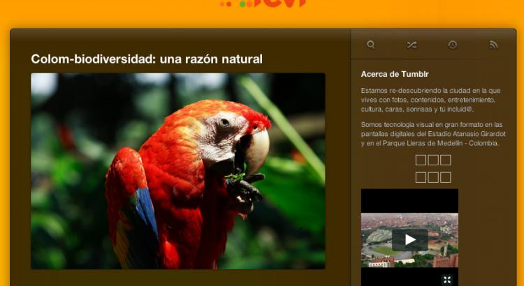 [Tevi-colombia.tumblr.com- junio 27, 2014] ColomBIOdiversidad