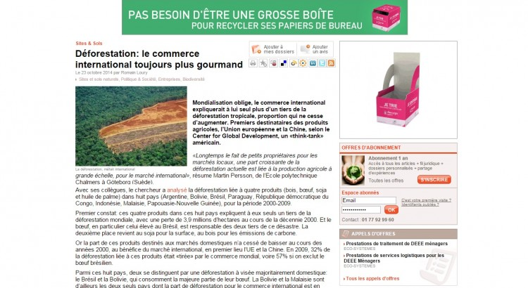 EFJournaldel'environnement23oct2014