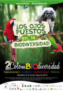 Affiche Colobiodiversidad 2015