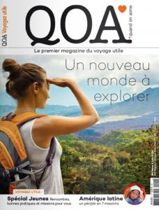 Couverture de QOA Magazine Mars 2016