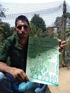 Dessin ferme agroforesterie