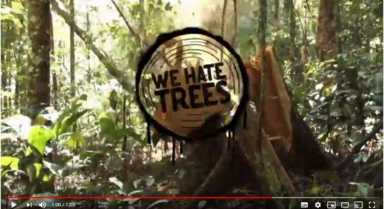 vidéo we hate trees
