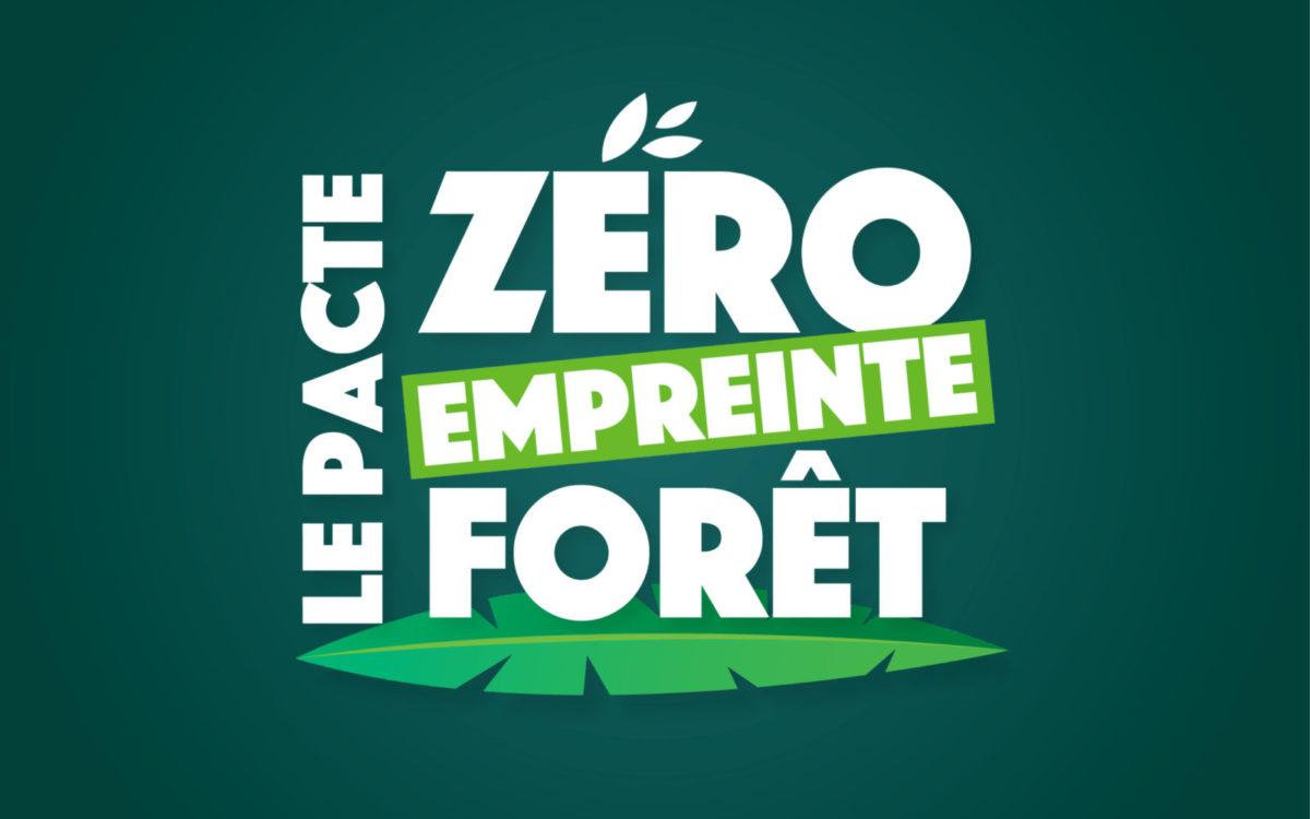 Bannière Zéro Empreinte Forêt